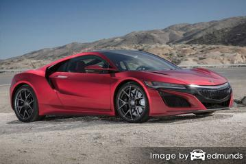 Discount Acura NSX insurance