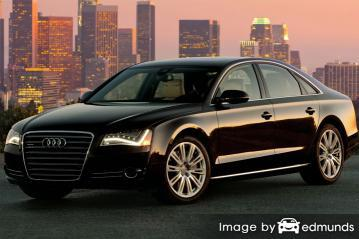 Insurance quote for Audi A8 in Chandler