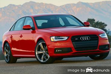 Insurance rates Audi S4 in Chandler