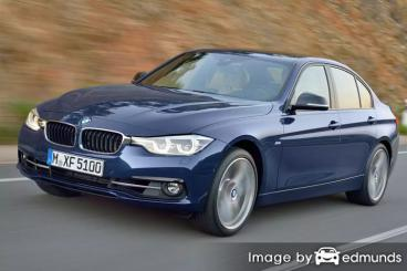 Insurance rates BMW 328i in Chandler