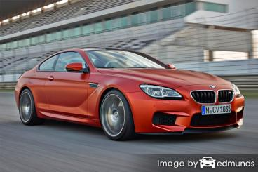 Insurance rates BMW M6 in Chandler