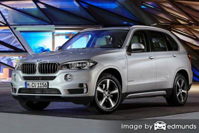 Insurance rates BMW X5 eDrive in Chandler