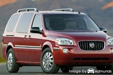 Insurance rates Buick Terraza in Chandler