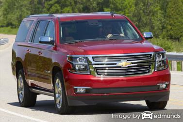 Insurance rates Chevy Suburban in Chandler