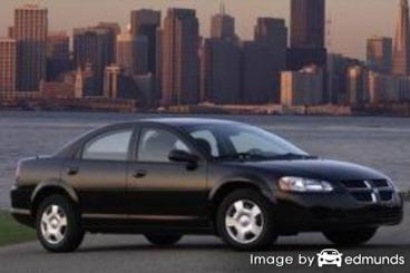 Insurance rates Dodge Stratus in Chandler