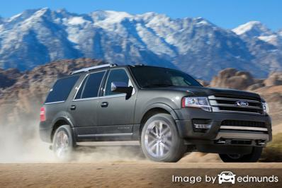 Insurance rates Ford Expedition in Chandler