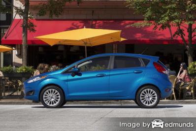 Insurance rates Ford Fiesta in Chandler