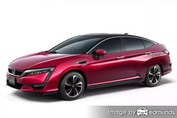Insurance quote for Honda Clarity in Chandler