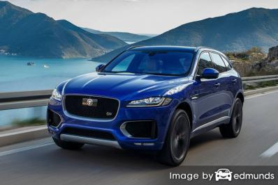 Insurance quote for Jaguar F-PACE in Chandler