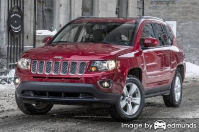Insurance rates Jeep Compass in Chandler