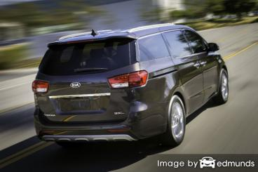 Insurance quote for Kia Sedona in Chandler