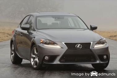 Insurance rates Lexus IS 350 in Chandler