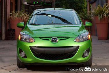Insurance quote for Mazda 2 in Chandler