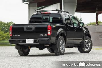 Insurance quote for Nissan Frontier in Chandler