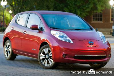 Insurance quote for Nissan Leaf in Chandler
