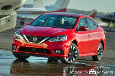 Insurance rates Nissan Sentra in Chandler