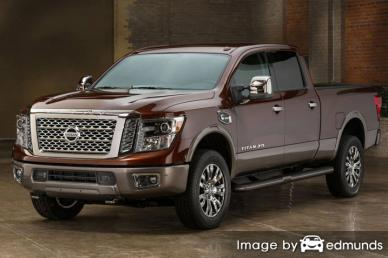 Insurance quote for Nissan Titan in Chandler