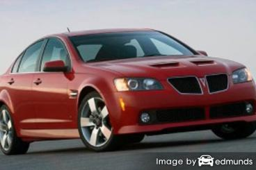 Insurance rates Pontiac G8 in Chandler