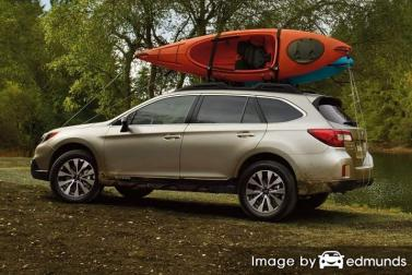 Insurance rates Subaru Outback in Chandler
