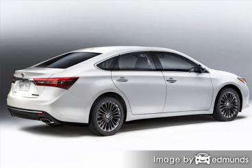 Insurance rates Toyota Avalon Hybrid in Chandler