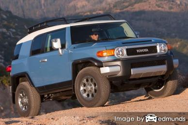 Insurance quote for Toyota FJ Cruiser in Chandler