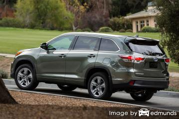 Insurance quote for Toyota Highlander Hybrid in Chandler