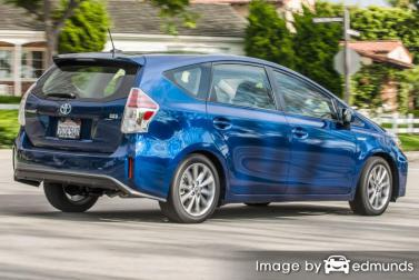Insurance quote for Toyota Prius V in Chandler
