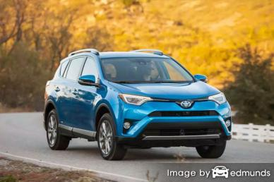 Insurance rates Toyota Rav4 Hybrid in Chandler